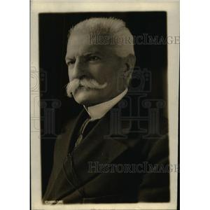 1915 Press Photo Baron Sidney Sennino Italian Minister of Treasury