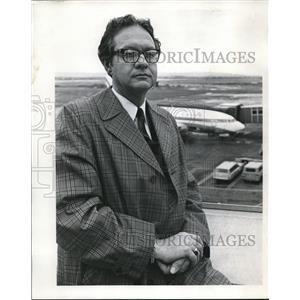 1972 Press Photo IJ Jim Church Federal Aviation Administration head Portland