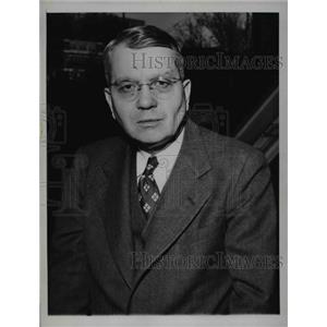 1947 Press Photo Chicago Dr Harold Uray Nobel Prize winner on atomic energy