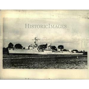 1937 Press Photo Alleged Torpedo attach made on Reich Cruser Leipzeg