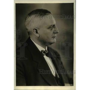 1919 Press Photo Y. Oudegeest, Belgium's labor leader