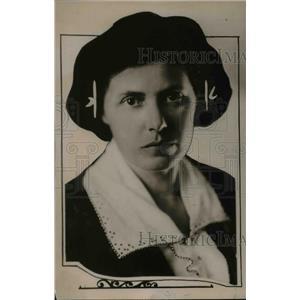 1921 Press Photo Miss Anne Sprague, Head of Internal Institute of W.C.A.