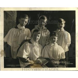 1923 Press Photo Paulist choir singers & soloist Jack Huber