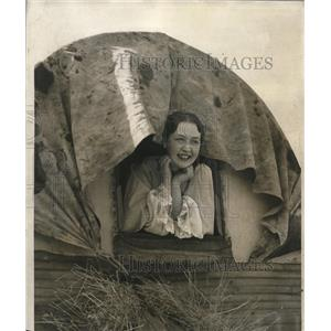 1933 Press Photo Ms. Margaret Young, granddaughter of Brigham