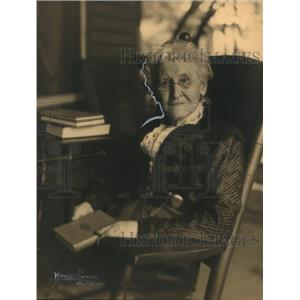 1912 Press Photo Mrs Amy Davis Winship of Cleveland
