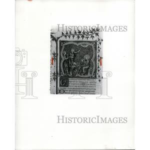 1963 Press Photo The Adoration of the Magi by Artist Jean Bondol