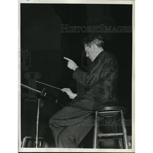 1918 Press Photo Dr. Artur Rodzinski Cleveland Orchestra Conductor