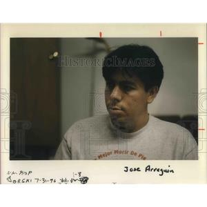 1996 Press Photo Jose Arreguin - ora06725
