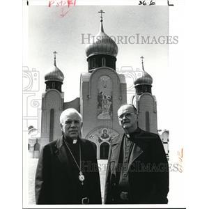 1909 Press Photo Bishop Andrew Pataki