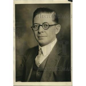 1923 Press Photo John B Powell correspondent Chicago Tribune
