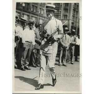 1929 Press Photo LeRoy Esterdahl, Michigan Boulevard Parade Musician