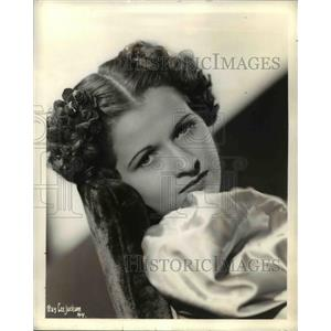 1937 Press Photo Radio Personality Mildred Schneider