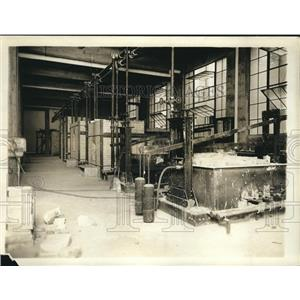1920 Press Photo Furnaces to test clay products at Bureau of Standards
