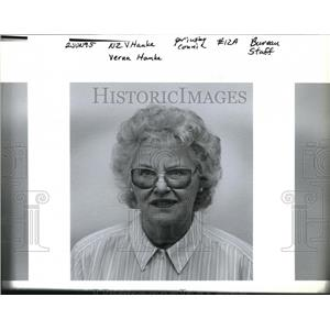 1995 Press Photo Verna Hanke in the picture - ora35439