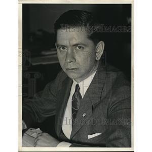 1933 Press Photo PC Kemp Deputy Administrator of NRA - nee02011
