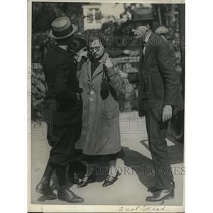 1924 Press Photo Mrs. Antoinette Fedeli and her son arrested for murder