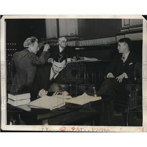 1931 Press Photo Virgil Kirkland and Barrat O'Hara - nee01730
