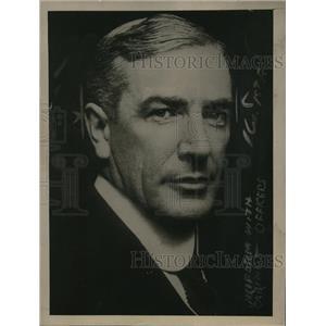 1919 Press Photo Henry P Fletcher Ambassador in Mexico