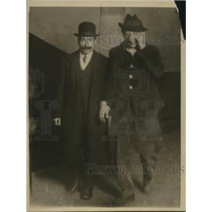 1919 Press Photo Emile Cottin after assassination attempt of Premier Clemenceau