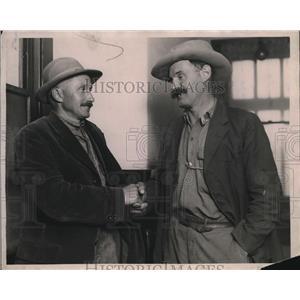 1923 Press Photo Joseph Miller and John Stein