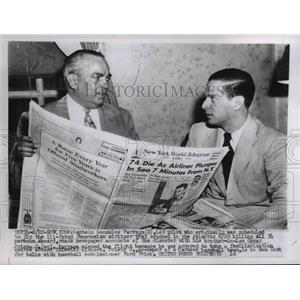 1956 Press Photo Capt Gonzalez Parraga Lav Pilot Crashed On Venezuelan Airliner