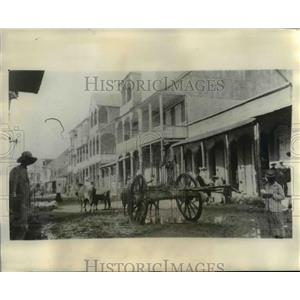 1929 Press Photo of the area where Marines killed native Haitians. - nee12202