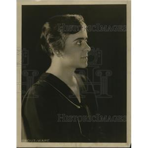 1931 Press Photo Miss Margaret Johnson, Woman Voter