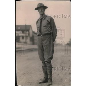 1919 Press Photo Policeman Robert J Dorman