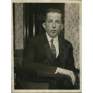 1922 Press Photo Grady Rutledge, Exec. Sec. American Unity League against KKK