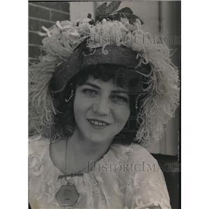 1914 Press Photo Miss Lorena Foster