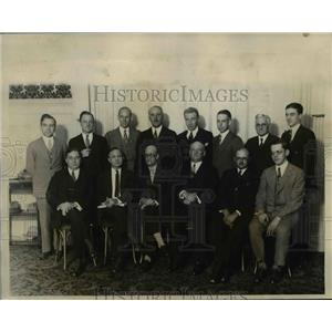 1926 Press Photo The National Broadcasters' Board of Directors meet in New York