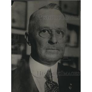1922 Press Photo William S Coburn Grand Goblin of Ku Klux Klan of La Calif