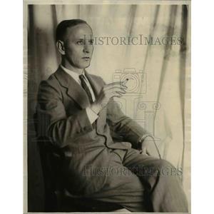 1926 Press Photo Donald MacKay Press Reporter