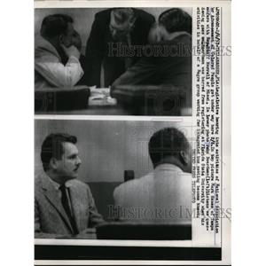 1957 Press Photo Legislative Hearing of National Association for Advancement Col