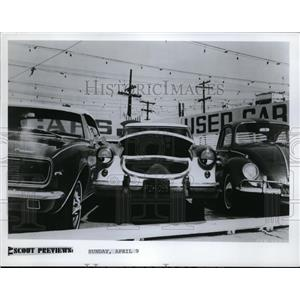 1972 Press Photo Dad, Can I Borrow the Car? Scene Wonderful world of Disney