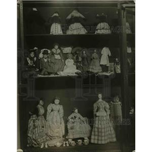 1923 Press Photo Doll collection in National Museum at Washington DC