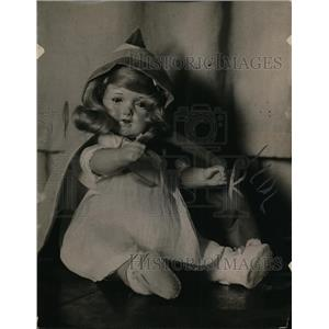 1918 Press Photo Peeps doll in Mrs Raleigh collection