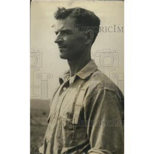 1920 Press Photo HO Wentworth, Classic Dust Bowl Portrait - nee63991