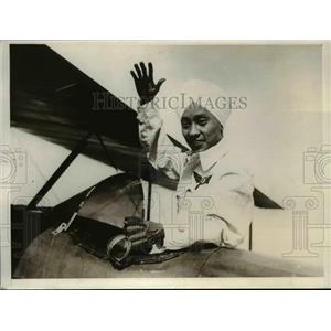 1930 Press Photo Gokal Singh Son of Rai Bahadur Partap Singh of Indian Flying