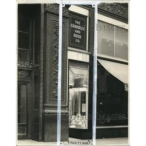 1911 Press Photo General View of the Chandler and Rudd Company store - cva96446