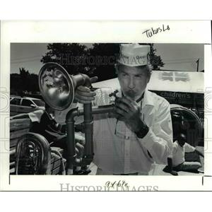 1991 Press Photo Tubas to Tubes at Cleveland Children's Museum - cva92267