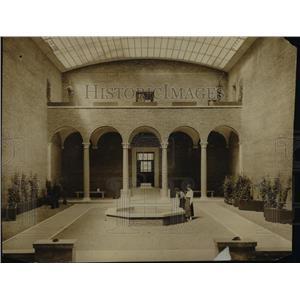 1916 Press Photo Cleveland Museum of Art & Interior - cva97025
