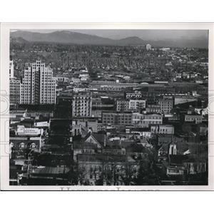Press Photo Spokane View - spa02682