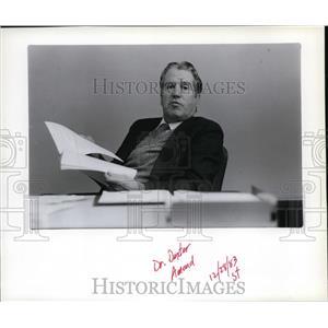 1983 Press Photo Dr. Dexter Amend - spa00378