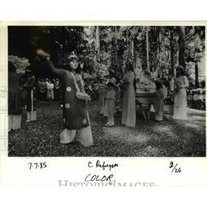 1985 Press Photo Vietnamese refugee resettlement in Portland - orb39342