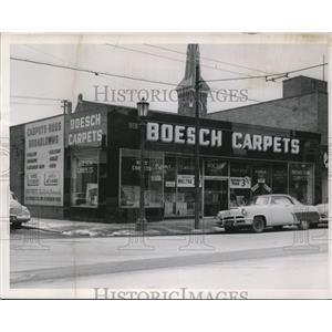 1954 Press Photo The Boesch Carpets Company - cva93749