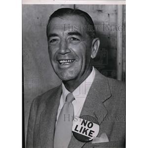 1952 Press Photo Colonel George S. Clarke - spa02209