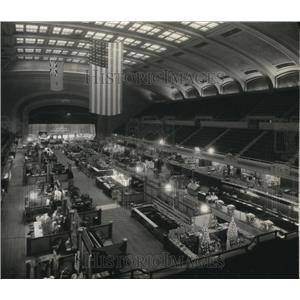 1930 Press Photo 3256 Public Hall Interior - cva86327
