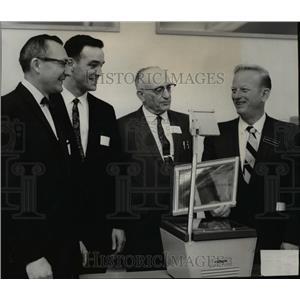 1967 Press Photo Glen Ovard, Roderick A Hilsinger, Arthur A Blauert & G Swenson