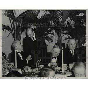 1938 Press Photo Gov. Herbert H.Lehman at Democratic State Committee Dinner
